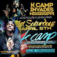 K CAMP INVADES MISSISSIPPI * SATURDAY, APRIL 5TH * @...