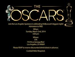 The Los Angeles Spartans presents A Night at the Oscars