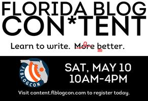 FLBlogCon*Tent Writing Conference and Workshop