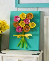 Spring Flower Egg Carton Craft for Grades K & Up