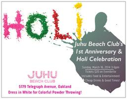 Juhu Beach Club's First Anniversary & Holi Celebration