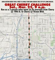 FREE running event Mar. 22: Great Cherry Challenge...