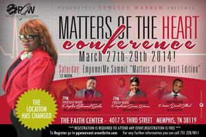 """Matters Of The Heart Conference"""