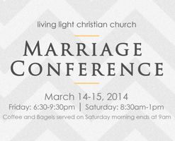 Marriage Conference 2014