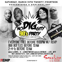 3.15.14 No Diggity 90s Party