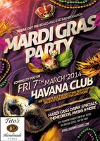 Mardi Gras Party at Havana Club