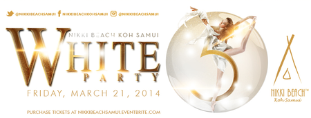 Nikki Beach Koh Samui 5th Anniversary White Party