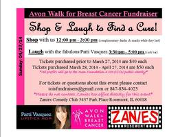 Shop &  Laugh to Find a Cure