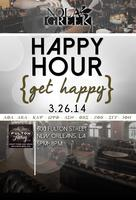 Get Happy. NOLA Greek March Happy Hour