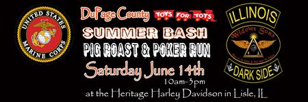 2014 Dupage Toys 4 Tots Summer Run & Pig Roast