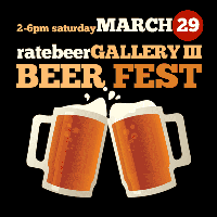 RateBeer Gallery, MAR 29 @ SPUR 654 Mission St, SF