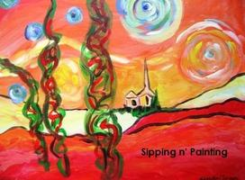 Sip n' Paint Starry Day Tuesday, July 22nd, 6:00pm