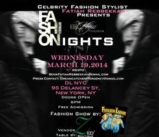 Celebrity Fashion Stylist Presents: Fashon Nights at...