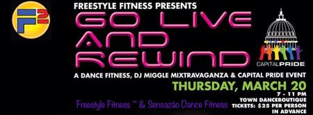 Freestyle Fitness™ Presents: Go Live and Rewind with...