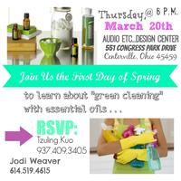 Green Cleaning with doTerra