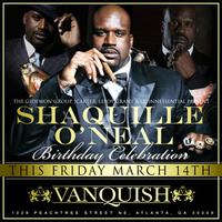 Shaquille O'Neal Birthday Celebration This Friday @...