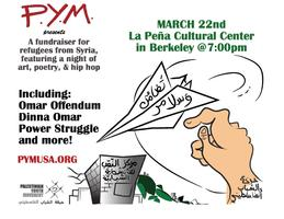 Fundraiser for Refugees from Syria