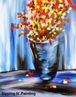 Sip n' Paint Monet's Flowers Friday, August 29th,...