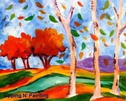 Sip n' Paint Aspens Turning Saturday, August 23rd,...