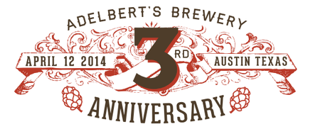 Adelbert's Brewery 3rd Anniversary Party