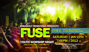 Fuse Youth Worship Night January 19th