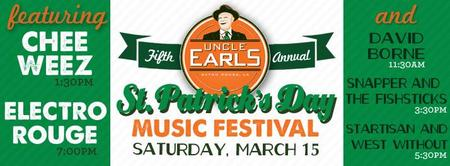 """Platform 225 presents """"Uncle Earls 5th Annual St..."""