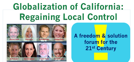 Globalization of California: A Forum for Regaining...