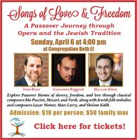 Songs of Love & Freedom:A Passover Journey through...