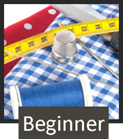 Beginner Machine Sewing: 4 classes - SOLD OUT