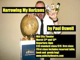 "CABARET MONTH ""Paul Oswell's Narrowing My Horizons""  -..."