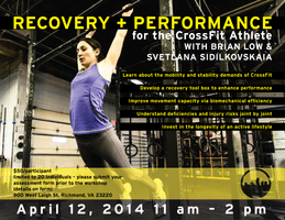 Recovery and Performance for the CrossFit Athlete