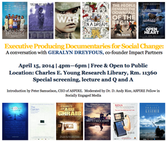 Executive Producing Documentaries for Social Change,...