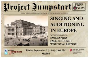 Singing and Auditioning in Europe