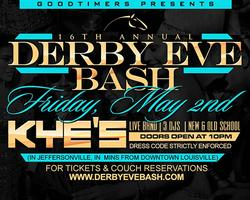 Goodtimers 16th Annual Derby Eve Bash