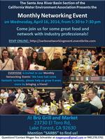 SARBS Monthly Networking Event - April 2014