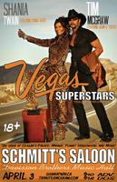 Vegas Superstars! Tim McGraw & Shania Twain