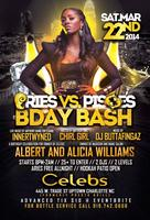 Aries vs Pisces Bday Bash