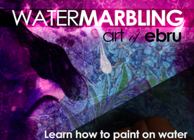 WATER MARBLING-EBRU CLASSES SPRING SESSION