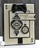 Christmas Card Stamp A Stack -Pat Powell Hostess