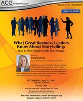 ACG OC Women's Networking Tea & Speaker Event - April...