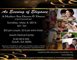 An Evening of Elegance - A Mother Son Dinner and Dance