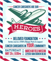 Cancer Caregivers are our HEROES! party