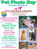 Pet Photo Day & Adoption Event March 23