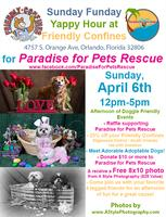 Sunday Funday Yappy Hour at Friendly Confines April 6th