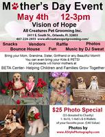 Mother's Day Event May 4th -All Creatures Pet Grooming