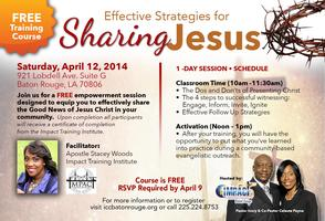 Strategies for Sharing Jesus