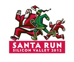 Santa Run Silicon Valley