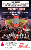 project SHINE - GIANT PACKAGE benefitting the Leukemia...