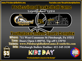 Cleveland Coyotes vs Pittsburgh Bullets