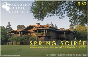 The Pasadena Master Chorale Association's 2014 Spring...